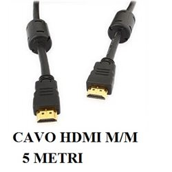 CAVO HDMI 19 PIN M/M 5 mt