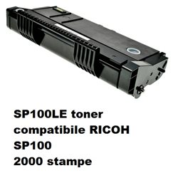 SP100LE toner compatibile RICOH SP100 2000 stampe
