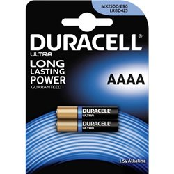 Duracell MN2500 E96 ( AAAA ) 1.5V Security - Blister 2pz- 041660