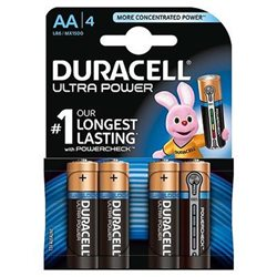 Duracell MX1500 LR06 Ultra Power ( AA ) Blister 4pz. - 002562