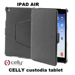 CELLY custodia tablet BOOKTAB per IPAD AIR colore nero