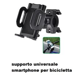 SUPPORTO SMARTPHONE IPHONE PER BICI UNIVERSALE
