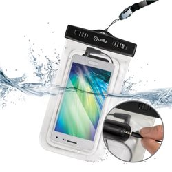 CELLY CUSTODIA UNIVERSALE XXL RESISTENTE ALL'ACQUA PER SMARTPHONE CON JACK 3,5