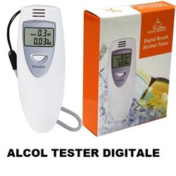 ALCOL TESTER DIGITALE