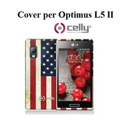 CELLY cover per Optimus L5 II in morbido TPU + SCREEN PROTECTOR
