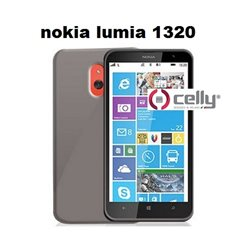 CELLY cover Nokia Lumia 1320 in TPU trasparente