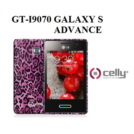 GT-I9070 GALAXY S ADVANCE Cover per Smartphone Celly BW ANIM TPU