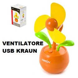 USB FAN FLOWER KRAUN