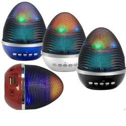 Mini Speaker Bluetooth Luminoso WS-1802 + MicroSD+ USB + LED+RADIO FM