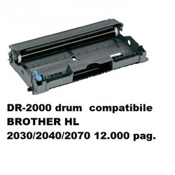 DR-2000 drum compatibile BROTHER HL 2030/2040/2070 12.000 pagine