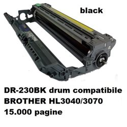 DR-230BK drum compatibile BROTHER HL3040/3070 15.000 pagine